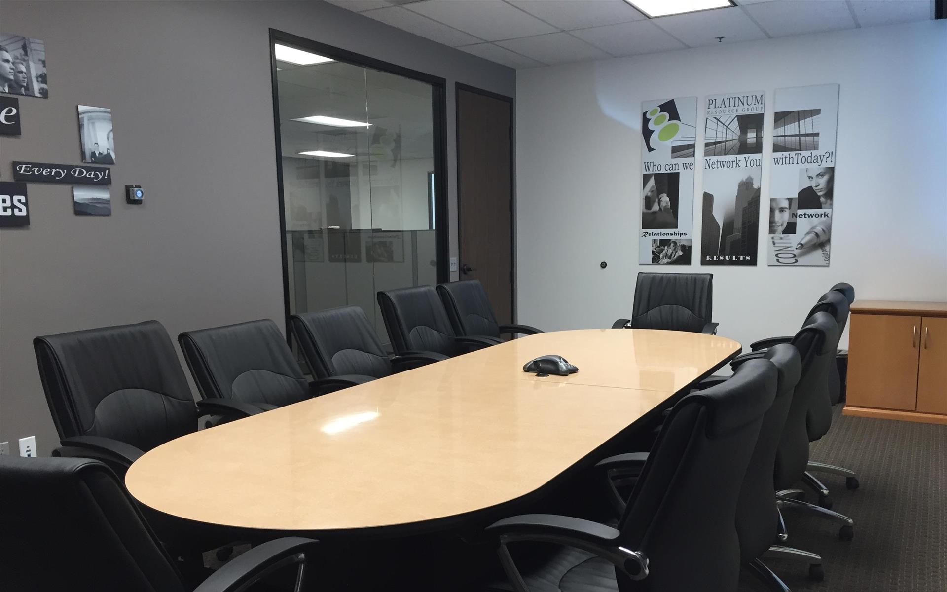 Platinum Resource Group - Conference Room Airport Area
