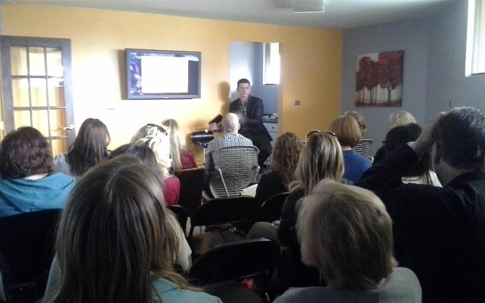 myBusinessBar - Training/Seminar Room