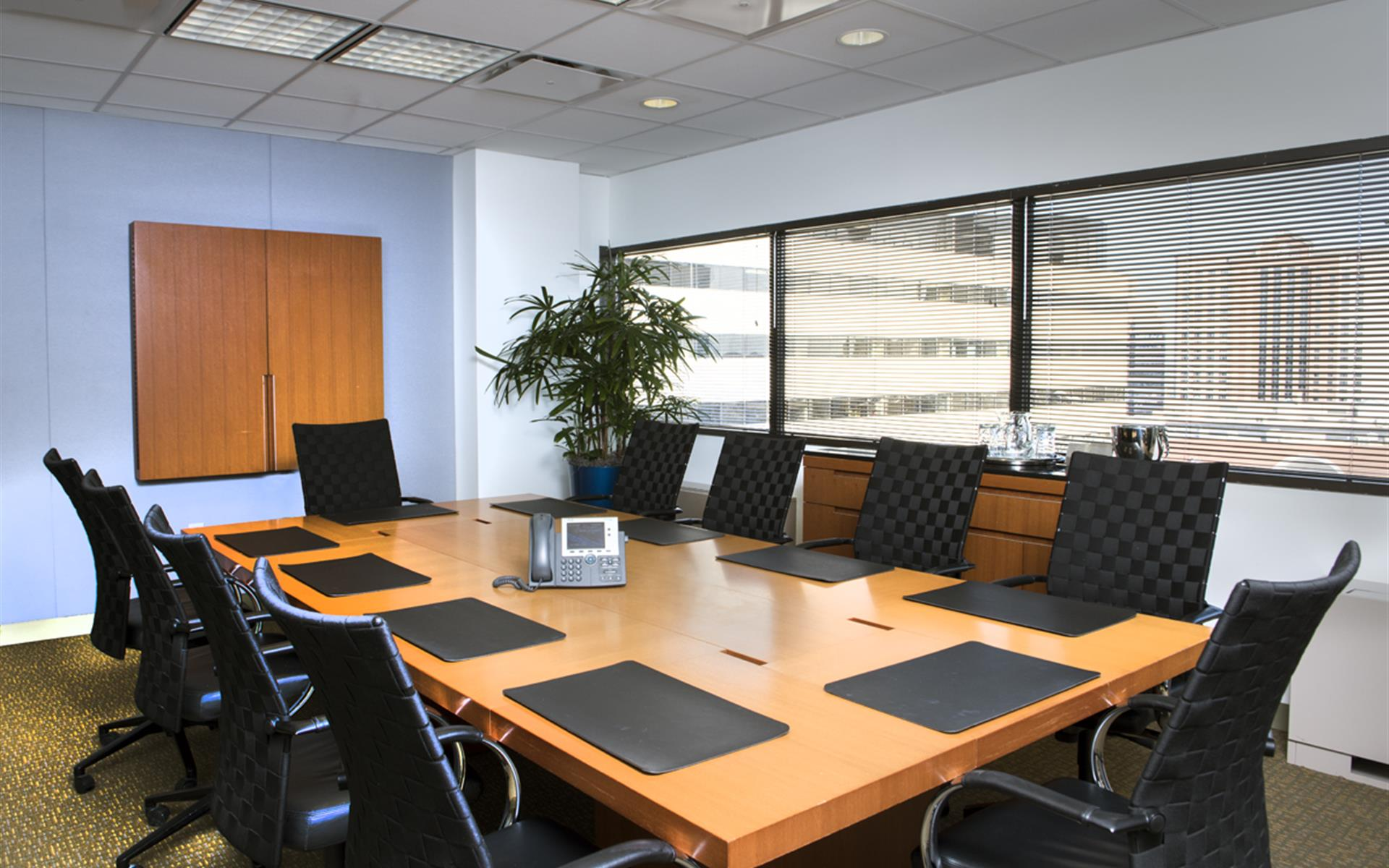 Carr Workplaces - Tysons Greensboro - Great Falls Boardroom