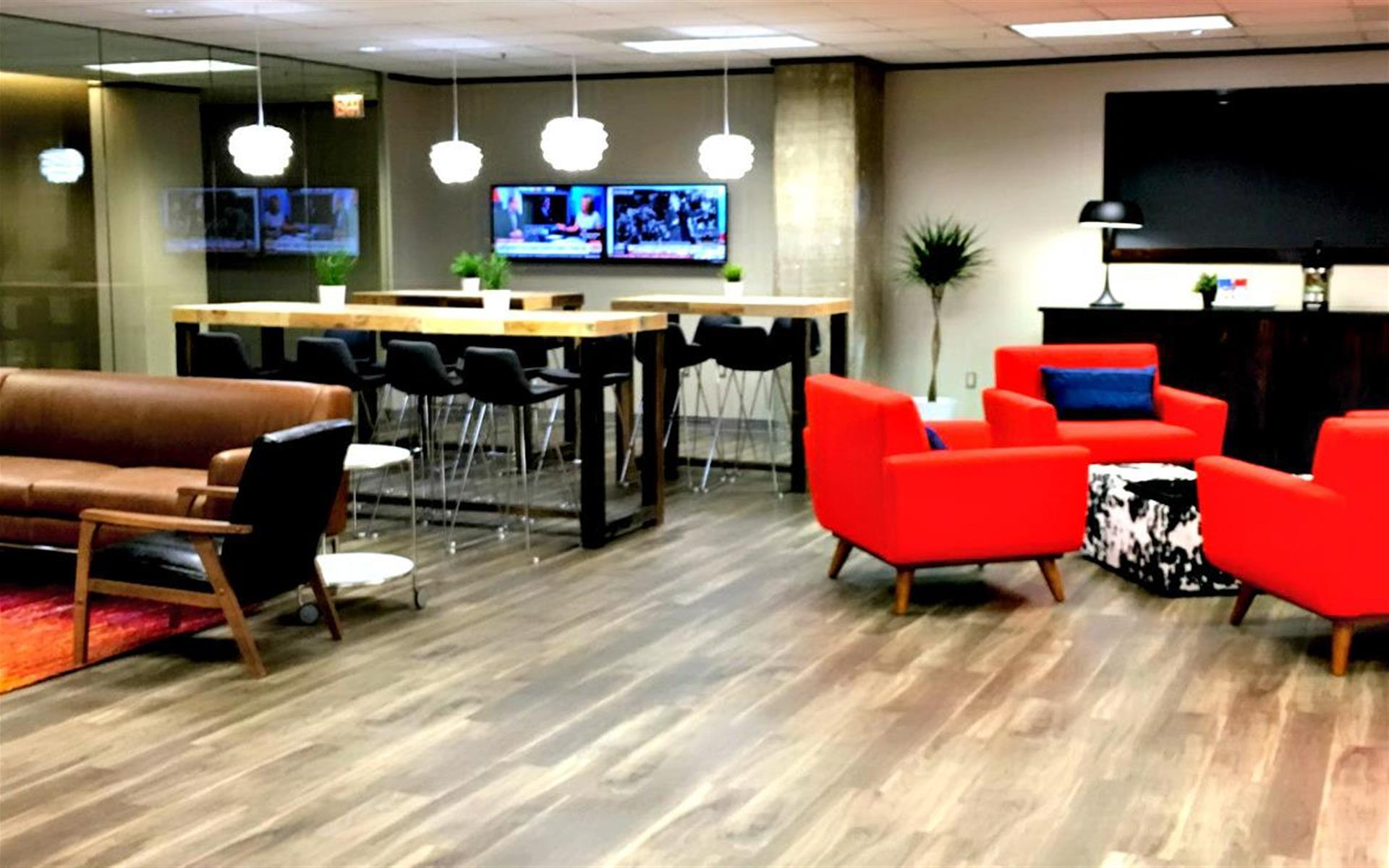 CUBExec - Interchange Building Executive Suites - Lobby Work Space