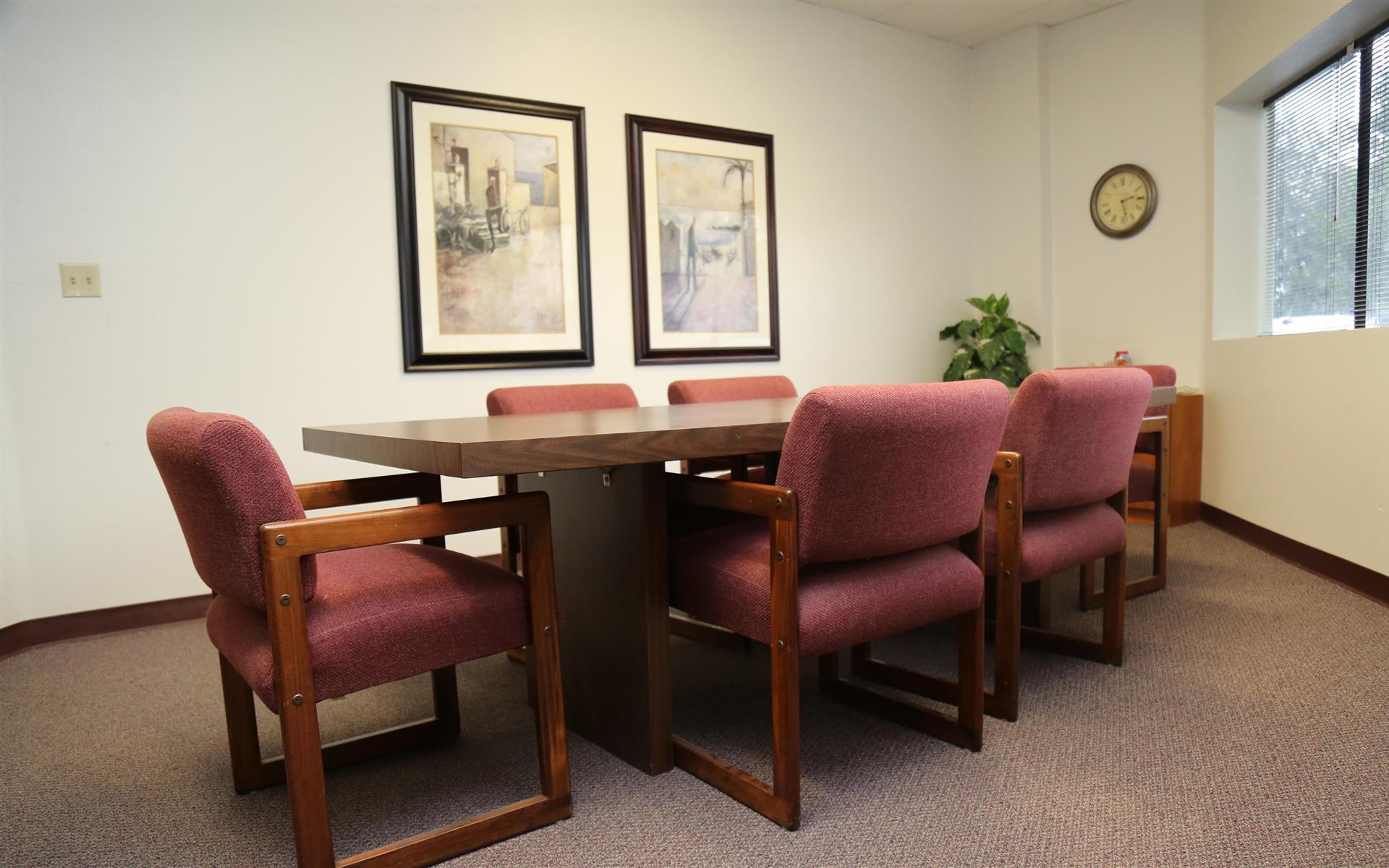 Golkow Conference Rooms - Santa Ana - Team Room