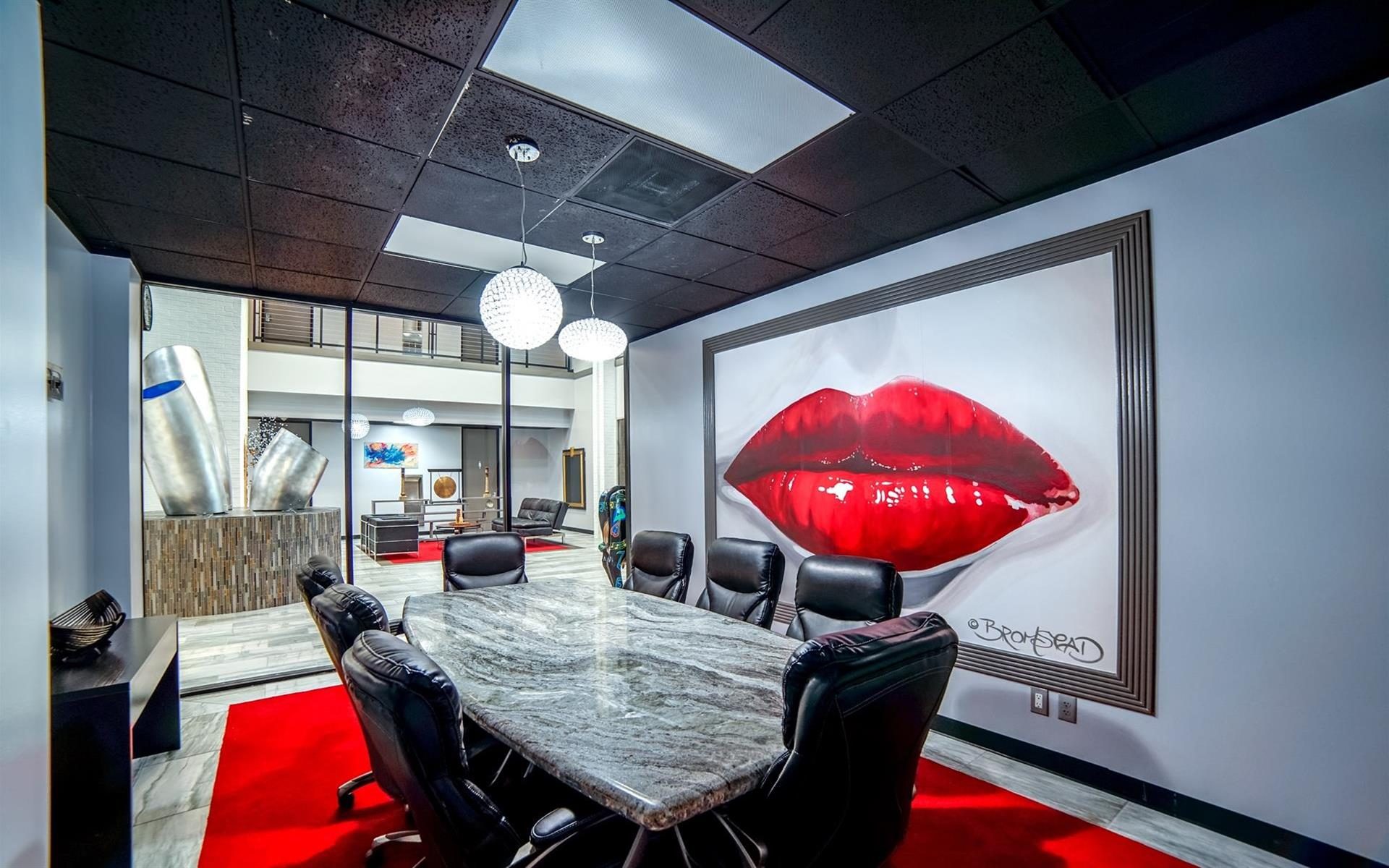 Houston Business Lounge - Conference/Meeting Room 1
