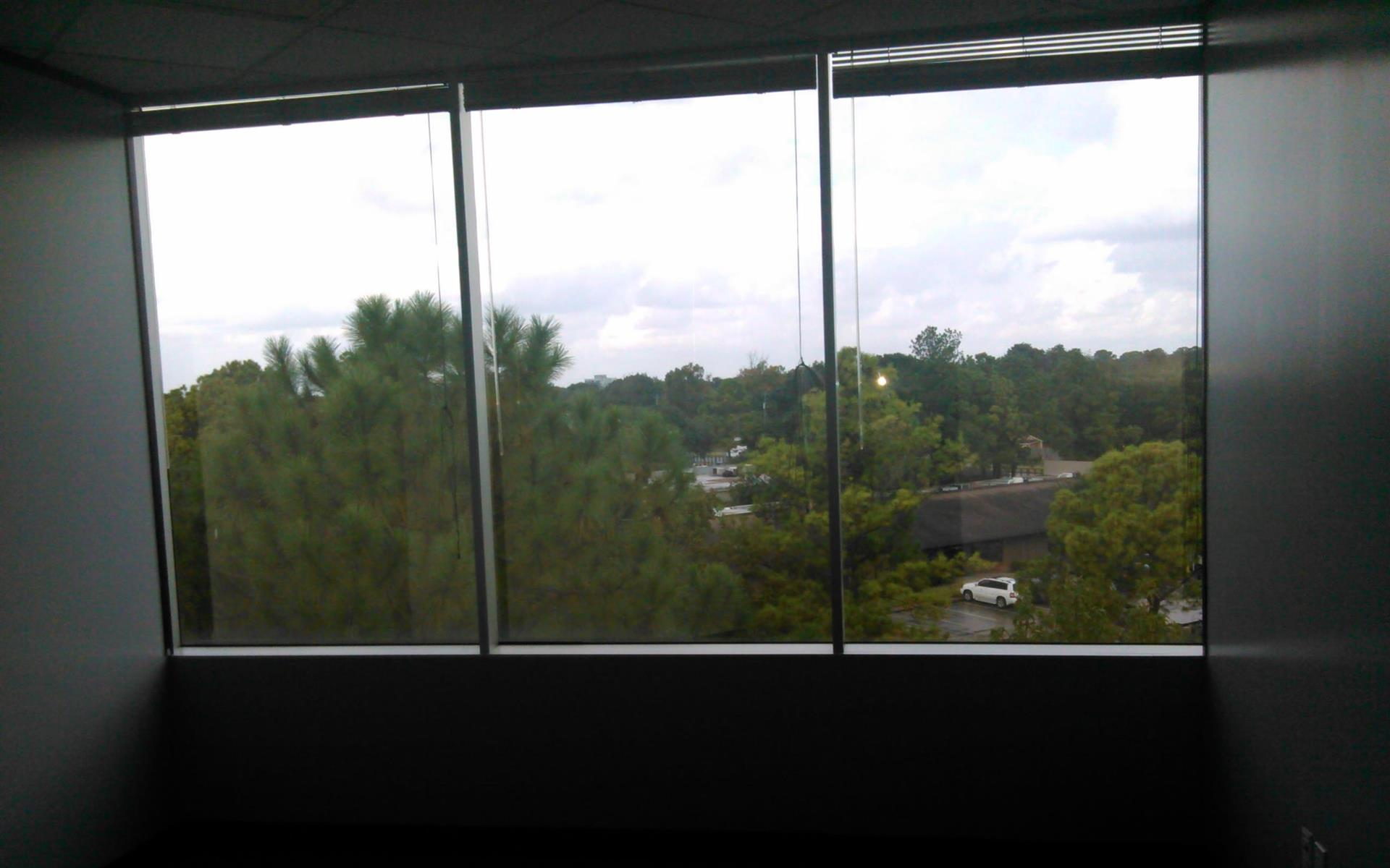 Houston Business Lounge - Team or Private Office With Window View