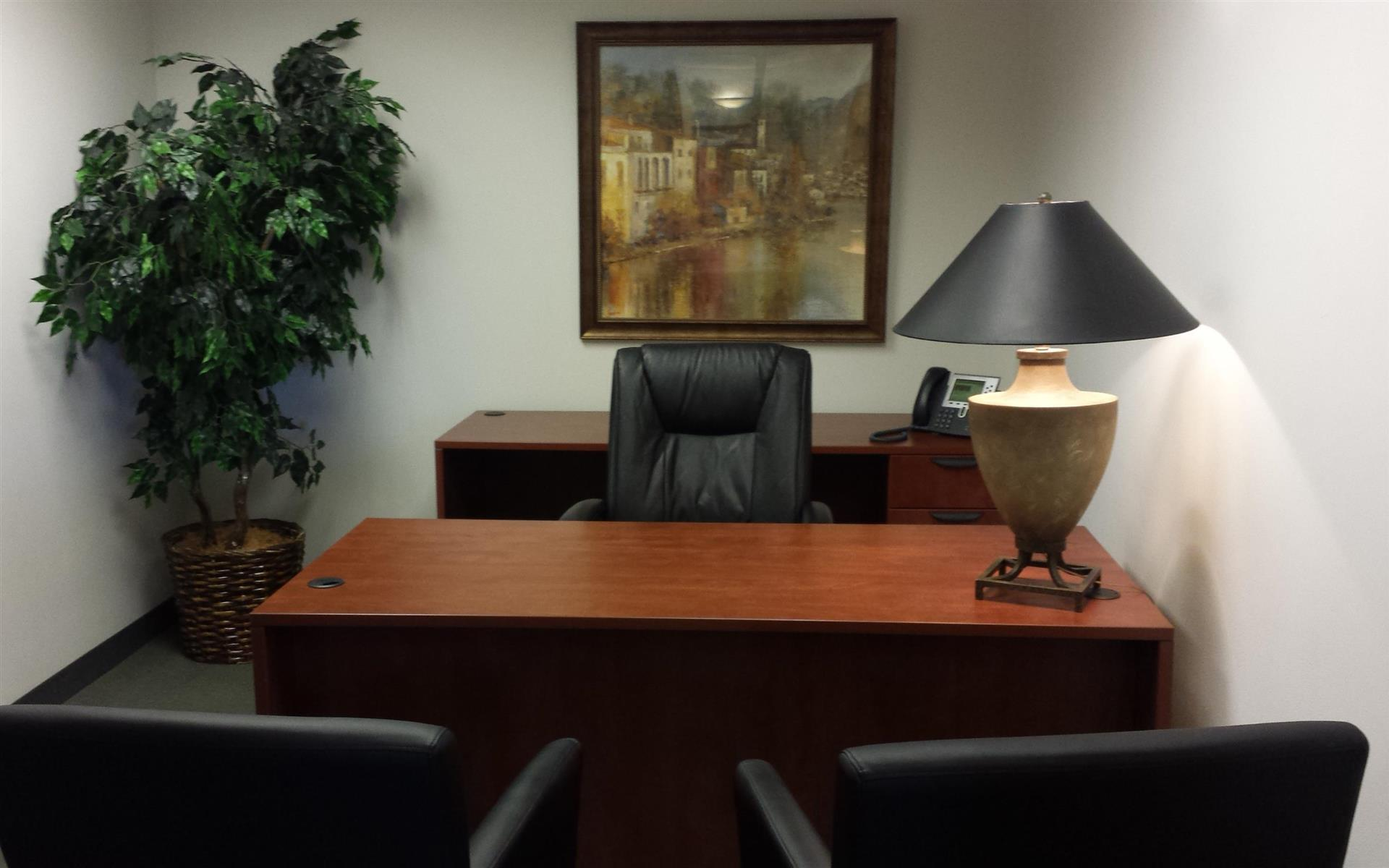 Executive Business Centers - DTC - Spacious Interior Office for 1-2