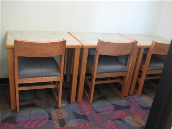 Lomira QuadGraphics Community Library - Very Small Meeting Room