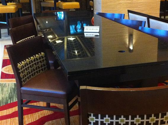 Chicago Marriott Suites O'Hare - The Brilliant Table
